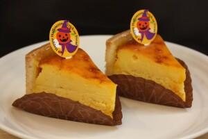 ベイクドチーズケーキかぼちゃ味