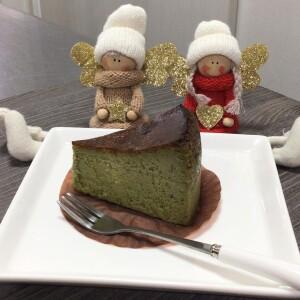 バスクチーズケーキ(抹茶)