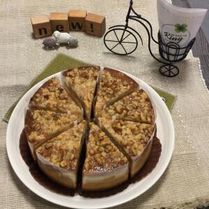 キャラメルナッツNYチーズケーキ