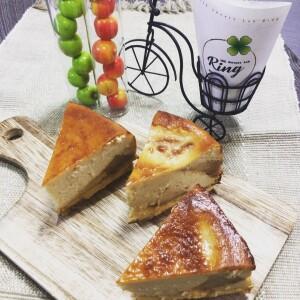 アップルパイチーズケーキ